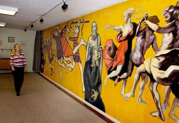 Lenkiewicz's Age Concern mural